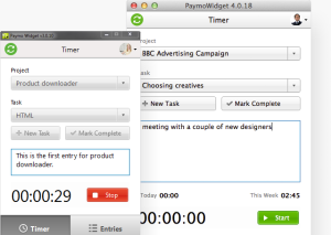 Paymo Time Tracking Apps