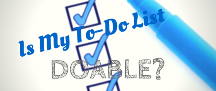 Is My To-Do List Doable?
