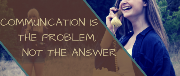 Communication Is the Problem, Not the Answer